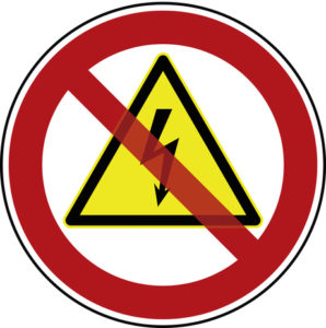 Stromunterbruch