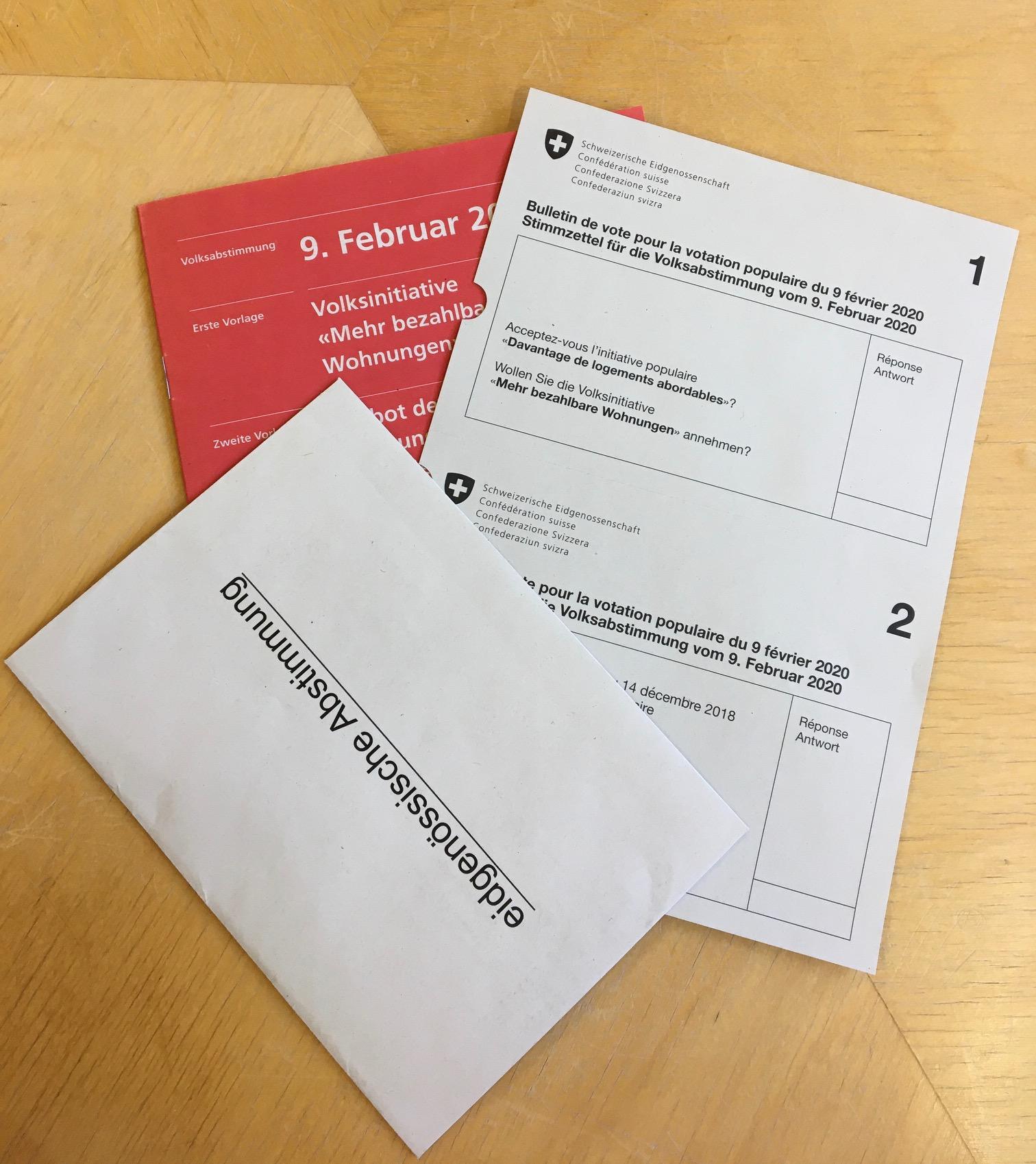 Abstimmungsbroschüre